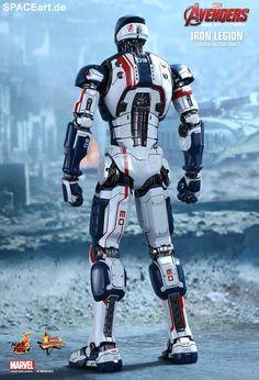 The Avengers 2: Iron Legion Drohne, Deluxe-Figur (voll beweglich) ... https://spaceart.de/produkte/tav020.php