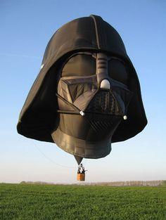 Darth Vader hot air balloons!