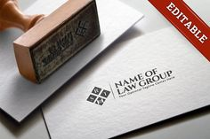"""Law Group Logo Templates Stylish, elegant logo ideal for attorneys and law groups. The """"RST"""" can be replaced with your initia by logabo.ca"""