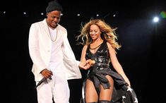 ON THE RUN TOUR: BEYONCÉ AND JAY Z Beyoncé and Jay Z perform at MetLife Stadium in East Rutherford, New Jersey