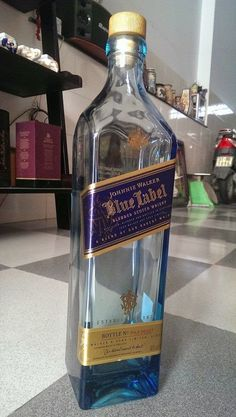 This bottle very nice with magic blue and weight 2 kilogram. Ciroc Pineapple, Empty Liquor Bottles, Johnny Walker Blue Label, Alcohol Aesthetic, Fake Pictures, Crystal Glassware, Scotch Whisky, Vodka Bottle, Whiskey