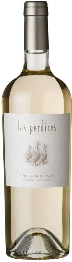 Pinot Grigio 2012 *Las Perdices*  - Bodega Viña Las Perdices, Luján de Cuyo, Mendoza, Argentina ---------------- Terroir: Agrelo (Luján de Cuyo) - Mendoza, Argentina