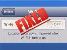 Iphone 4 & 4S IOS 7 Wifi repair