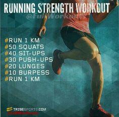 Running strength workout