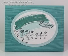 Wetlands 2 - Stamp With Amy K