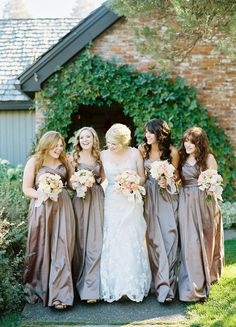 Bridesmaids dresses by Impression