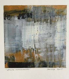 A Painting Day - Storm Warnings I, II, III - Ruth Andre, painting by artist Ruth Andre