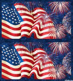 "Stonehenge Celebration 2 - Grand Flag - Navy - 24"" x 44"" PANEL"