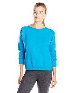 Hanes Women's V-Notch Pullover Fleece Sweatshirt ** Want to know more, click on the image.