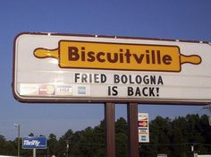 Biscuitville rocks! Best sweet tea on the planet.