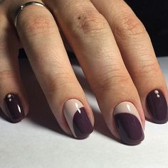 New Manicure Art Simple Ideas Dark Nails, Matte Nails, Red Nails, Acrylic Nails, Hair And Nails, Coffin Nails, Art Simple, Red Nail Designs, Trendy Nail Art