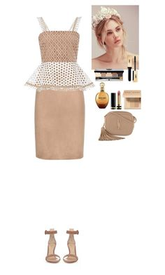 """""""Outfit"""" by eliza-redkina ❤ liked on Polyvore featuring Tom Ford, Alexis, Gianvito Rossi, Free People, Bobbi Brown Cosmetics, Gucci, Roberto Cavalli, Yves Saint Laurent, outfit and like"""