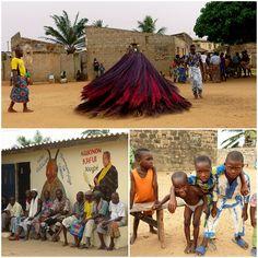 Benin, voodoo i wirujące Zangbeto Voodoo, Travel Photography, Vacation, Adventure, Children, Nature, Fun, Wanderlust, Painting
