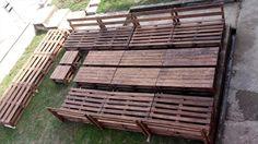 Wooden Pallets Ship Deck / Garden Furniture | 99 Pallets