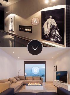 Which #fireplace would you cozy up to? A or B?   www.planikafires.com www.facebook.com/planikafire photo by Michał Kugacz