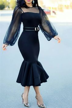 From dream wedding dresses and party dresses to perfect prom dresses and evening dresses, you're sure to find a fabulous style to match every occasion. Sexy Maxi Dress, Classy Dress, Classy Outfits, Chic Outfits, Sexy Dresses, Evening Dresses, Fashion Outfits, Party Dresses, Dress Fashion