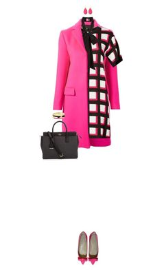 """Kate Spade"" by ittie-kittie ❤ liked on Polyvore featuring MSGM, Kate Spade and katespade"