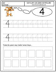 okul öncesi 4 sayısı çizgi çalışması School Worksheets, Preschool Math, Word Search, Alphabet, Words, Printables, Drawings, Preschool, Alpha Bet