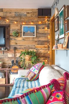 House Tour: Rustic, Cozy California Cabin Vibes