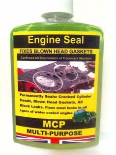 Head Gasket Sealant Engine Seal MCP ,Permanent Sealer 16 oz .,,,,PETROL & DIESEL