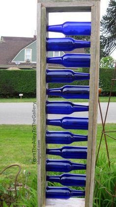 blue bottle ladder