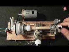 """▶ Mini Lathe """"Wood & Metal"""" / Torno / 车床 / Drehmaschine / Torna - YouTube"""