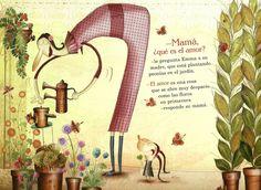 soñando cuentos: ¿QUÉ ES EL AMOR? Retro 2, Children's Book Illustration, Various Artists, Childrens Books, Illustrators, Bing Images, Whimsical, Creatures, Sketches