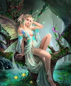 Art Drawings Of People Fantasy Fairy Tales 51 Ideas Magical Creatures, Fantasy Creatures, Elfen Fantasy, Anime Fantasy, Elves And Fairies, Fantasy Fairies, Fantasy Art Angels, Real Fairies, Fairy Pictures