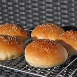 Perfekte Hamburgerbrötchen