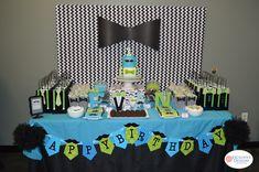 Little Man's Bowtie Party | CatchMyParty.com