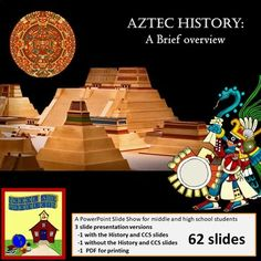 Aztec Civilization: a brief overview Capture and hold your students' attention with this interesting 62 slide overview of the Aztec Civilization. Covering Geography, Religion, Agriculture, Politics, Economics, and Social Structure, this presentation introduces the last great Mesoamerican civilization.