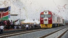 Welcome to Emmanuel Donkor's Blog            www.Donkorsblog.com: Kenya inaugurates new Chinese-funded railway
