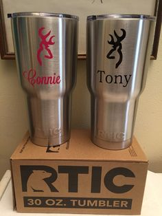 Superfast RTIC monogrammed tumbler 30 oz by AliciaBeam on Etsy