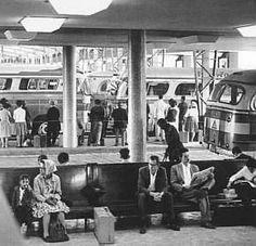 Extinta Estação rodoviária Julio Prestes - 1960