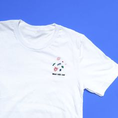 What I Feel Like Embroidered Unisex T-Shirt