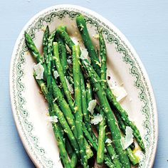 Asparagus with Lemon and Pecorino Recipe | CookingLight.com #myplate  #vegetables