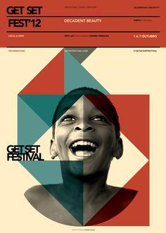 Get Set Festival · special edition by Mariana Baldaia, via Behance