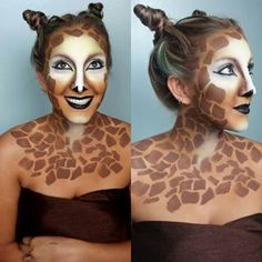 giraffe makeup - Google Search