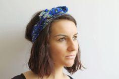idée de coiffure avec un #Foulardcheveux @Alison