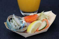 auckland seafood festival food oysters fish salmon by A Style Collector