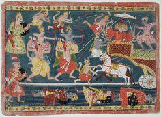 Rama, Lakshmana and the army of monkeys and bears attack Ravana   Flickr - Photo Sharing!