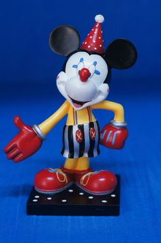 """Disney Mickey Mouse Inspearations LET'S PARTY 6"""" Resin Figurine #17816 Retired #WestlandGiftware #Figurines"""