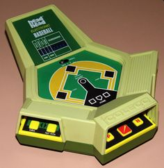 Vintage Coleco Head To Head Electronic Baseball Handheld Game, Model 2180, Made In Hong Kong, Circa 1982.