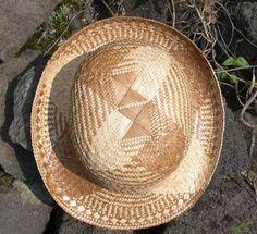 Cherie Okada-Carlson Straw Fedora, Fedora Hat, Hawaiian Hats, All About Hawaii, Pine Needles, Hula, Pyrography, Basket Weaving, Color Blocking
