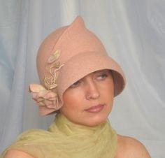 "Gallery.ru / ""Застенчивая"" - Шляпки. Hats. - irina-spasskaya"