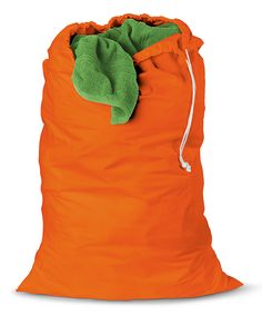 Look at this #zulilyfind! Honey-Can-Do Orange Laundry Bag by Honey-Can-Do #zulilyfinds