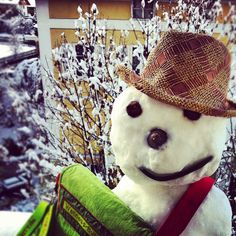 #WellnessBummler und sein erster richtiger #Schnee :-)