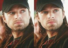 Bucky Barnes is gorgeous 😍🖤 Bucky Barnes, Ben Barnes, Sebastian Stan, Tom Hiddleston, Benedict Cumberbatch, Marvel Dc, Loki, Captain America Winter, Winter Soldier Bucky