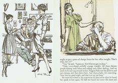 A few words of wisdom for you who are adventuresome enough to enter the field of illustration from the late, great Austin Briggs's . Art Syllabus, Robert Mcginnis, Vintage Drawing, Black And White Illustration, Drawing People, Figure Drawing, Golden Age, Illustrators, Book Art