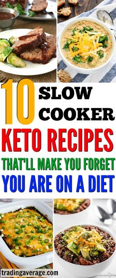 These amazing slow cooker keto recipes are absolutely delicious! I never knew being on a diet could be so easy - thanks to my slow cooker!